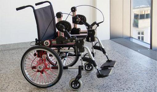 ergonomic wheelchair design