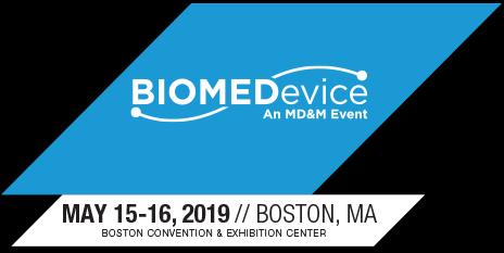 biomedevice boston 2019 logo